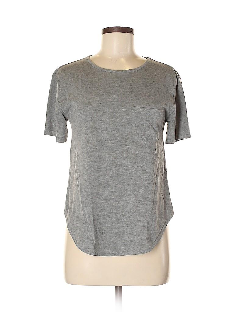 Topshop Women Short Sleeve T-Shirt Size 6