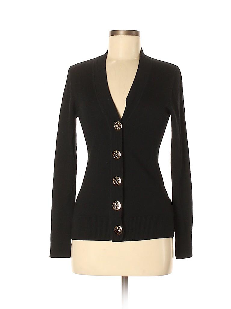 Tory Burch Women Wool Cardigan Size S