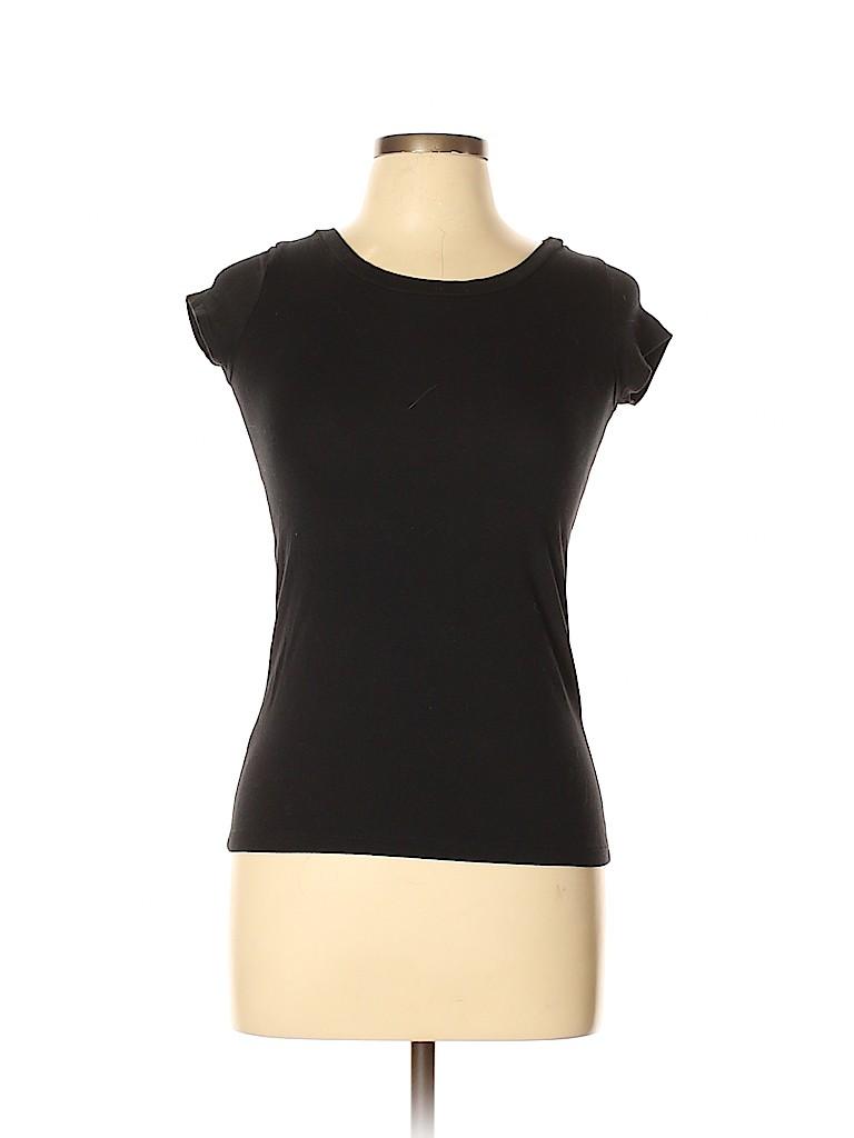 Aqua Women Short Sleeve Top Size XL