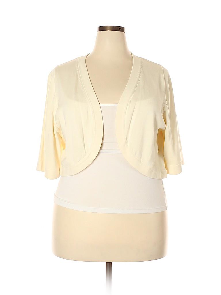 Jones New York Women Cardigan Size 2X (Plus)