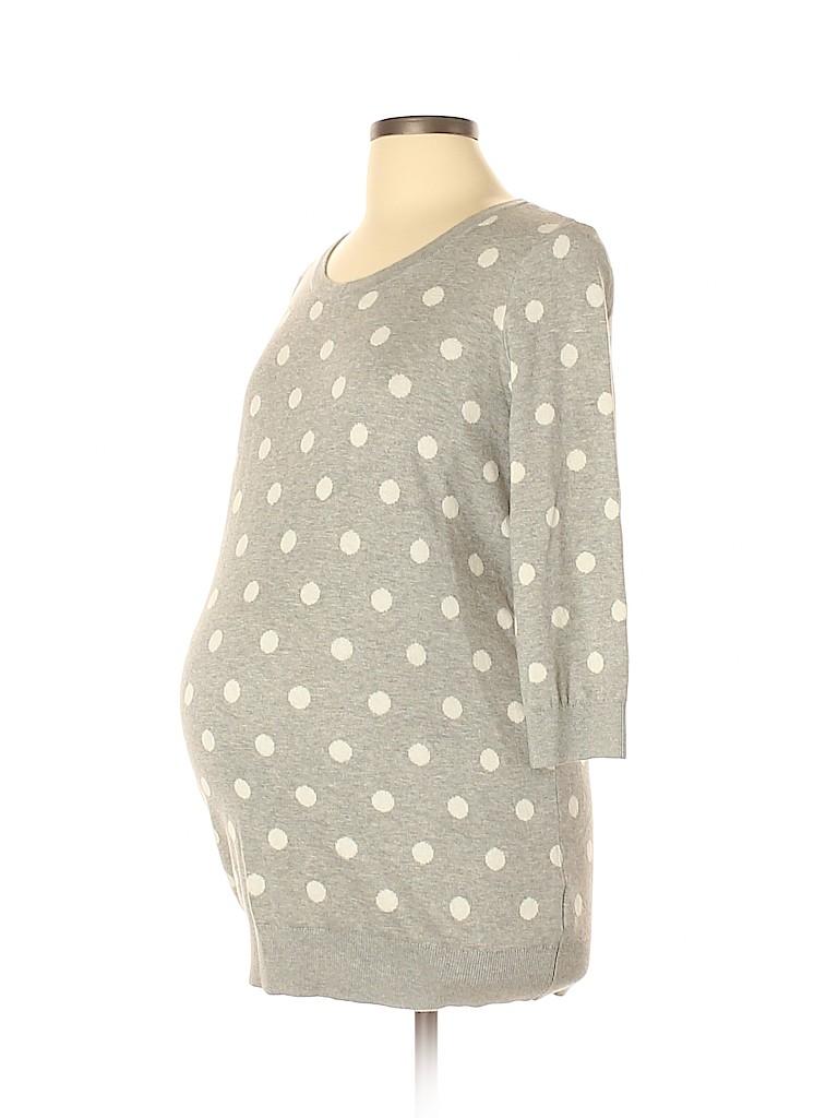 Motherhood Women Pullover Sweater Size L (Maternity)