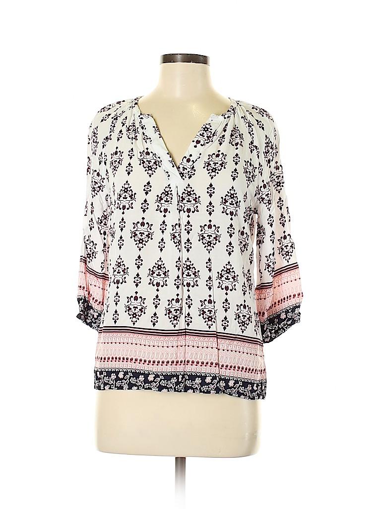 Artisan NY Women 3/4 Sleeve Blouse Size M