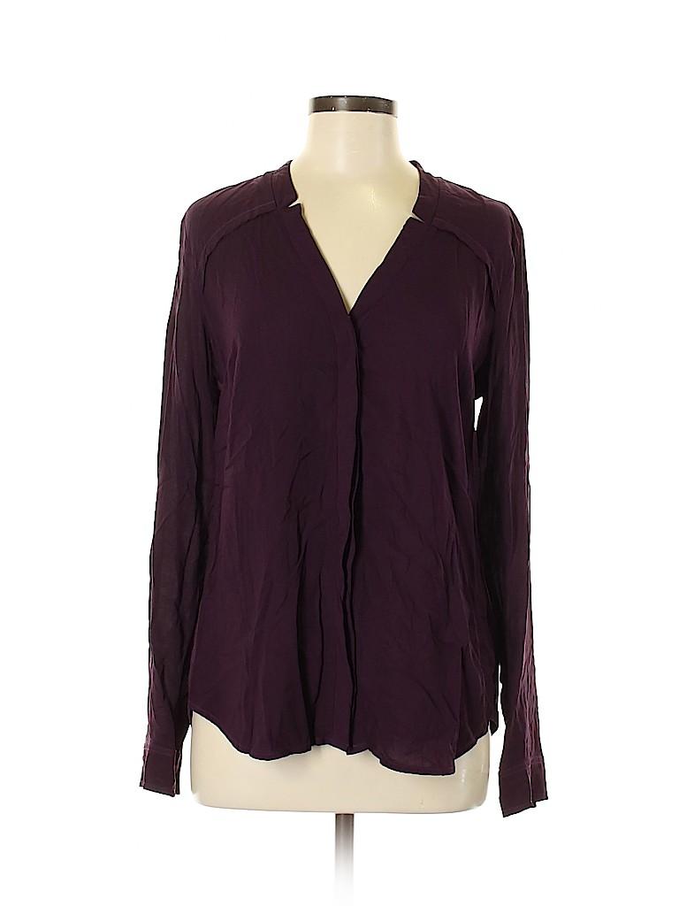 Splendid Women Long Sleeve Blouse Size M