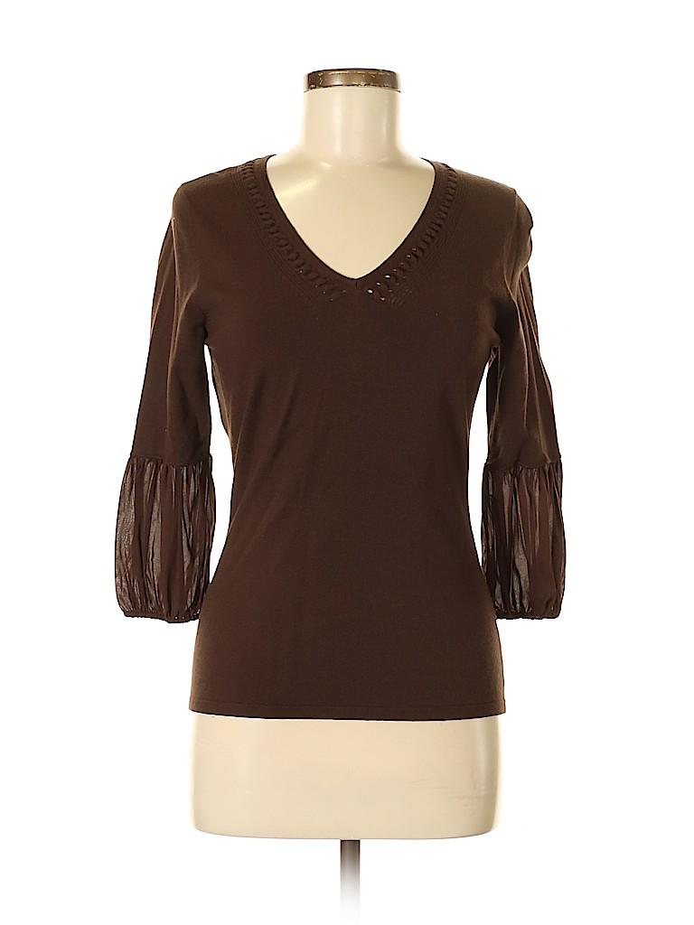 Etcetera Women 3/4 Sleeve Top Size S