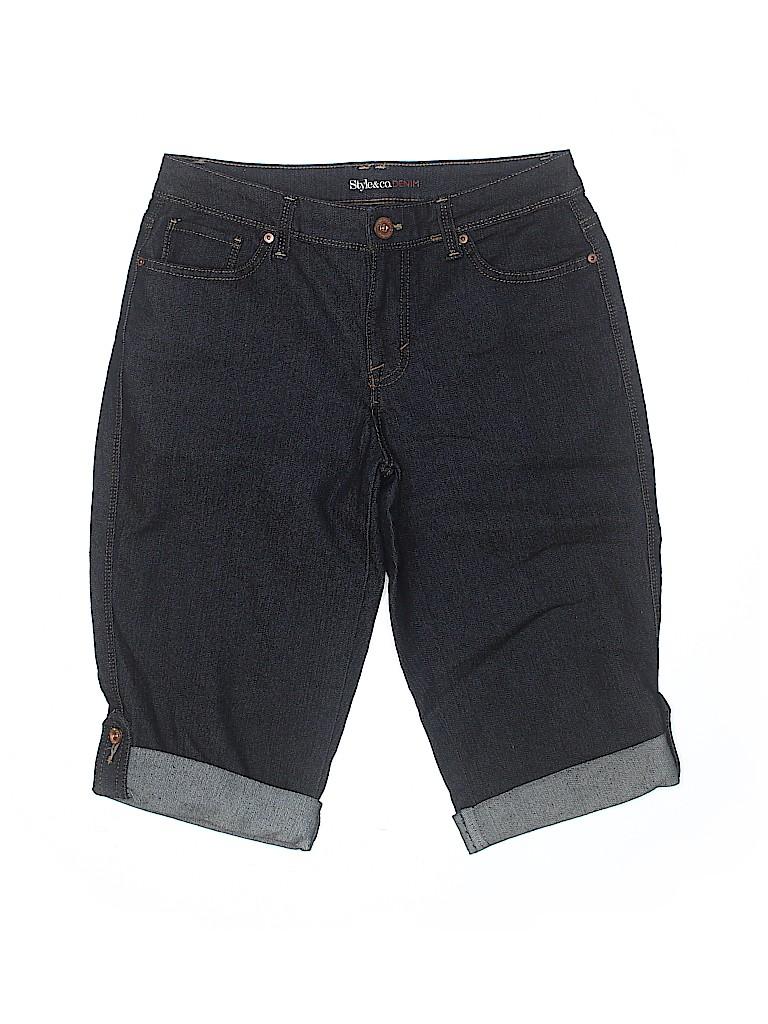 Style&Co Women Denim Shorts Size 4