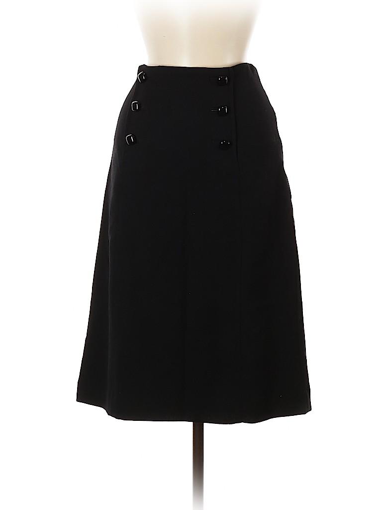 Banana Republic Women Wool Skirt Size 8