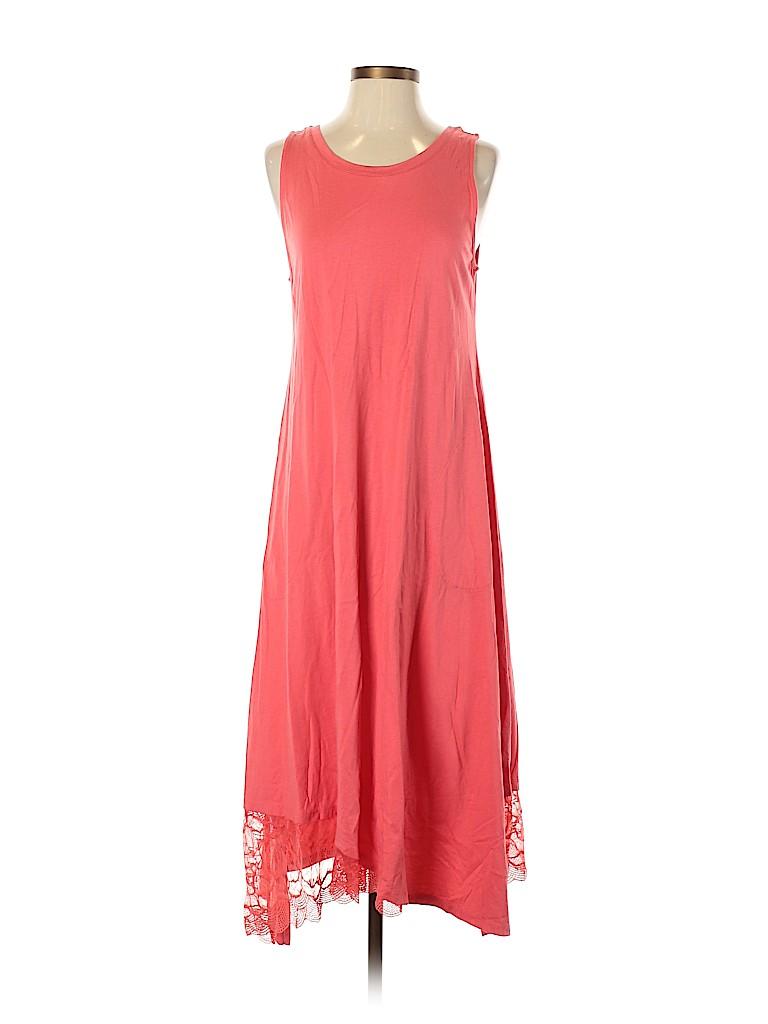 LOGO by Lori Goldstein Women Casual Dress Size S