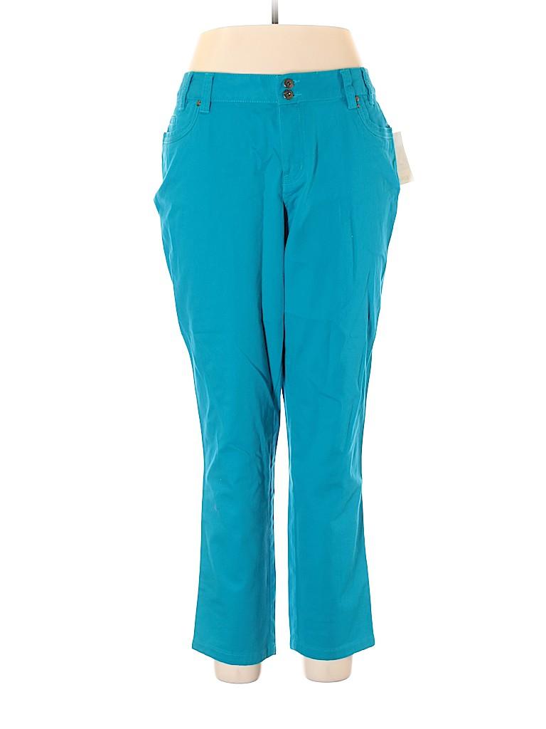 Fashion Bug Women Casual Pants Size 18 (Plus)