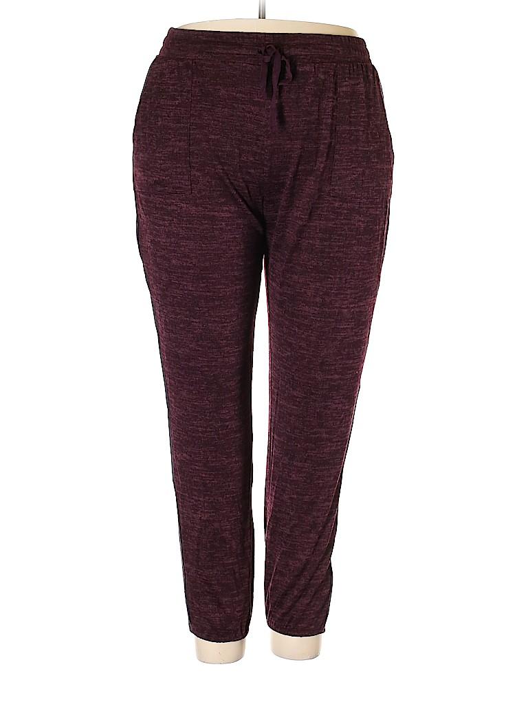 LOGO by Lori Goldstein Women Casual Pants Size 1X (Plus)