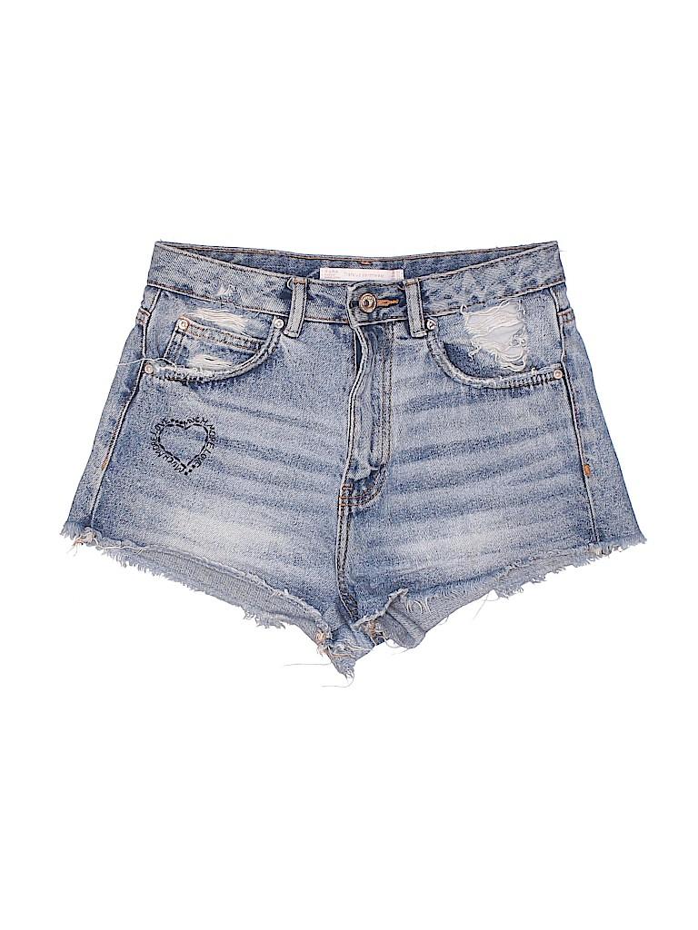 Trafaluc by Zara Women Denim Shorts Size 2