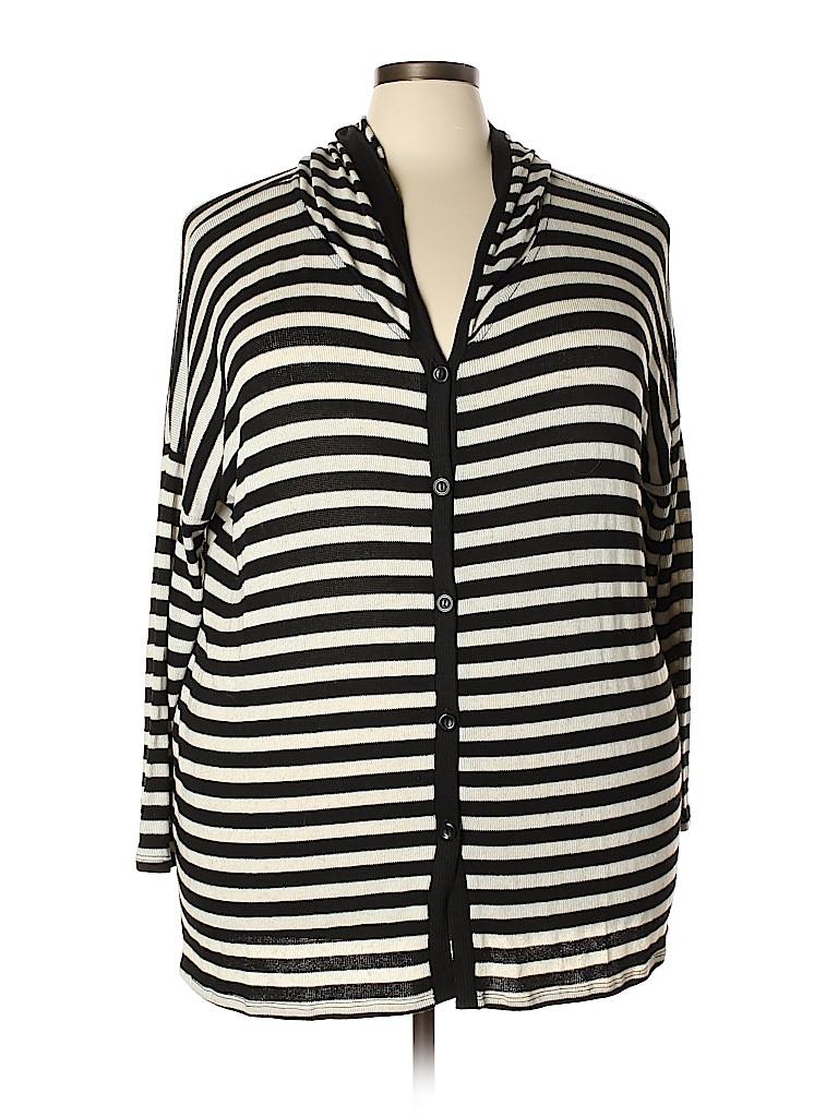 Bobeau Women Cardigan Size 2X (Plus)