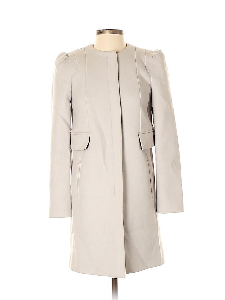 Zara TRF Women Wool Coat Size XS
