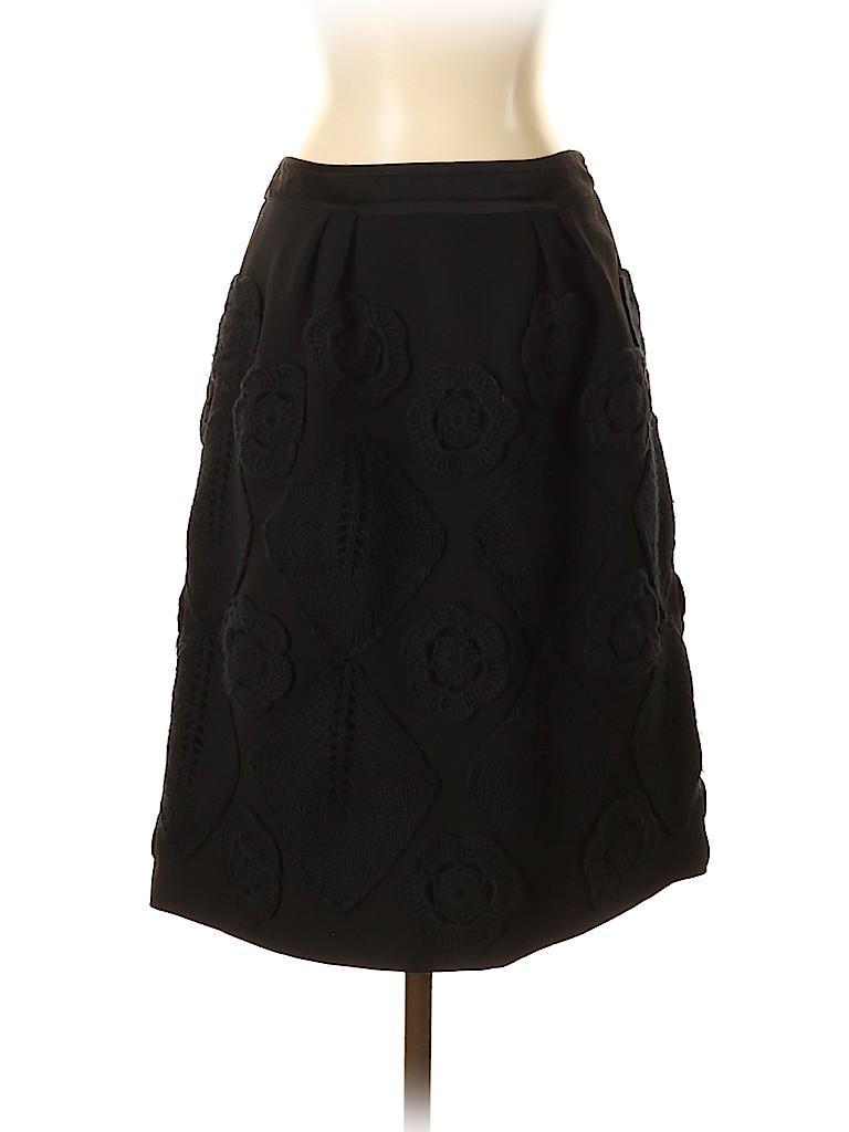 Alberta Ferretti Collection Women Wool Skirt Size 40 (IT)