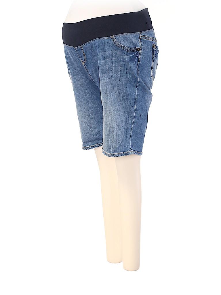 Liz Lange Maternity for Target Women Denim Shorts Size S (Maternity)