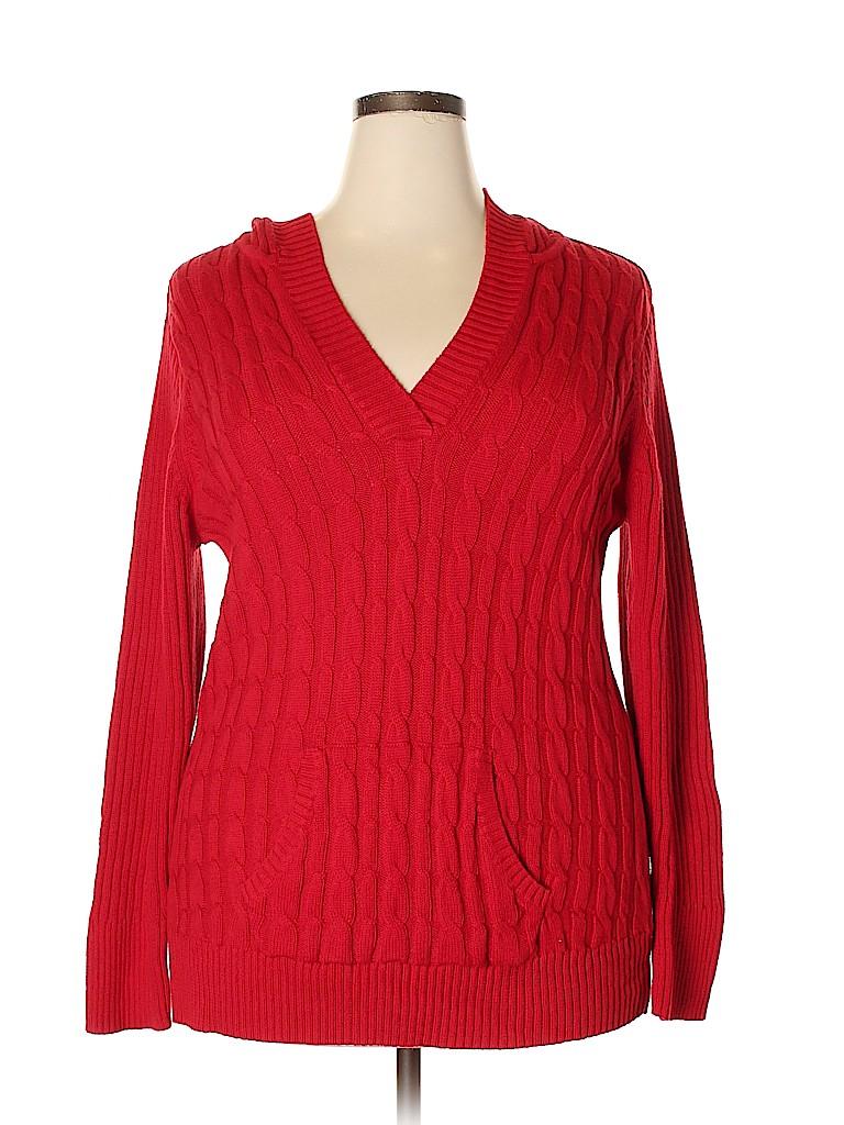 Fashion Bug Women Pullover Sweater Size 1X (Plus)