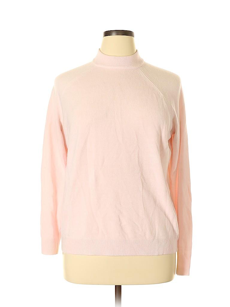 Karen Scott Women Pullover Sweater Size 0X (Plus)