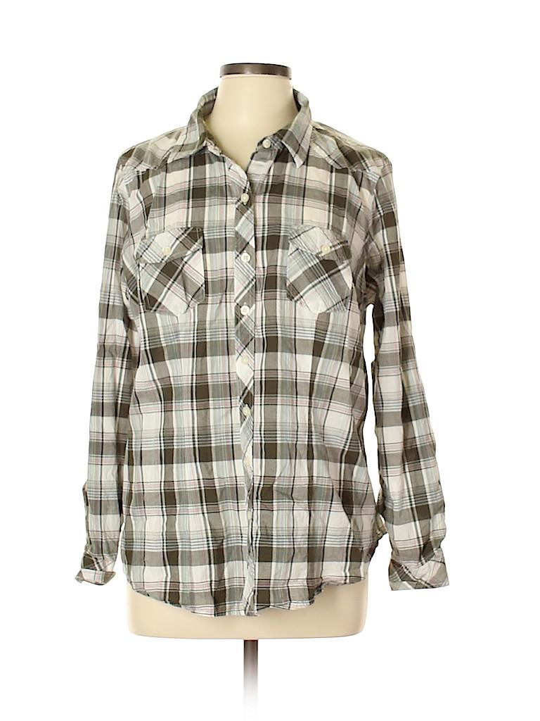 Torrid Women Long Sleeve Button-Down Shirt Size Lg Plus (0) (Plus)