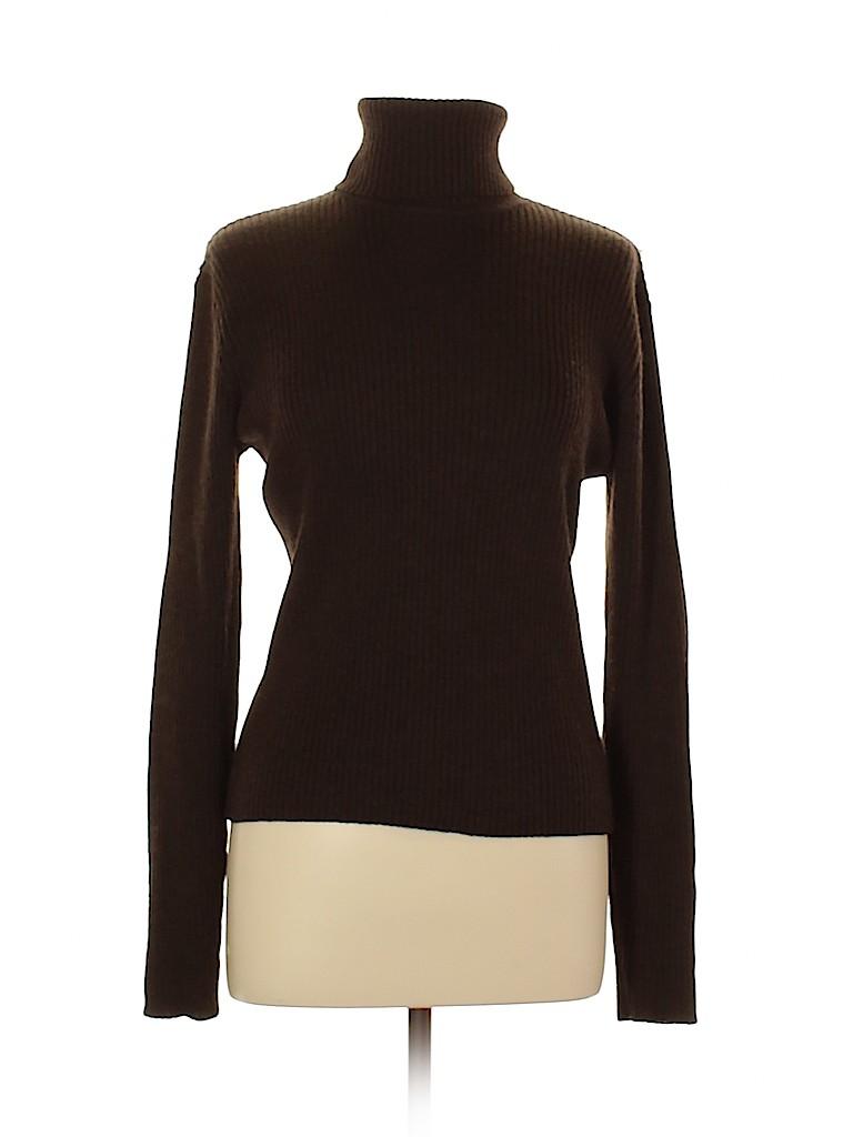 Lafayette 148 New York Women Wool Pullover Sweater Size L