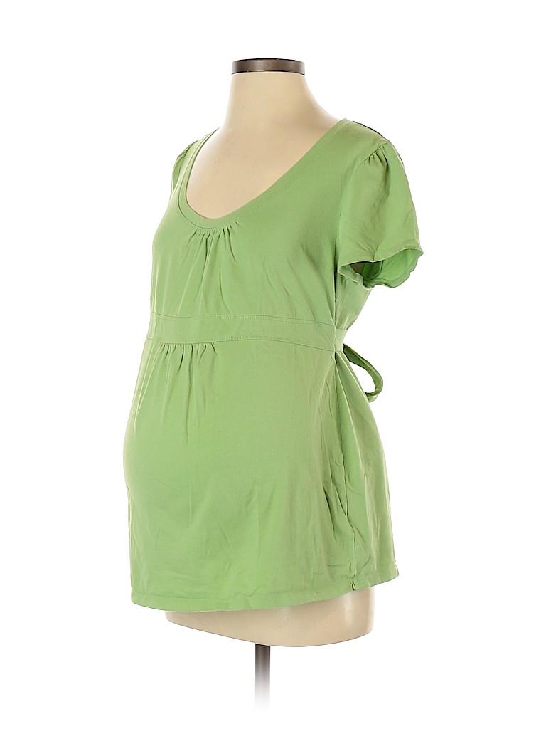 Duo Maternity Women Short Sleeve T-Shirt Size M (Maternity)