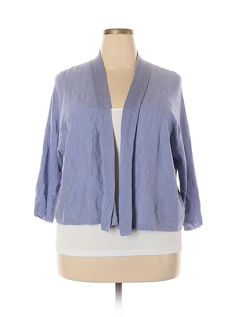 Eileen Fisher Women Cardigan Size 3X (Plus)