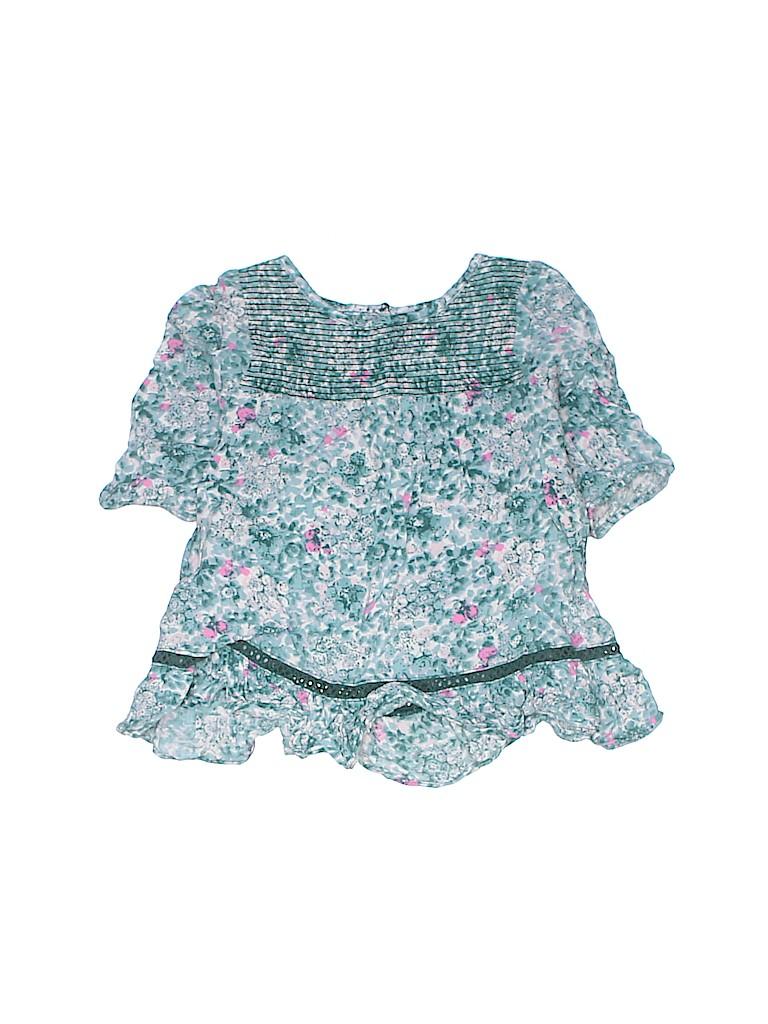 Genuine Baby From Osh Kosh Girls 3/4 Sleeve Blouse Size 3T