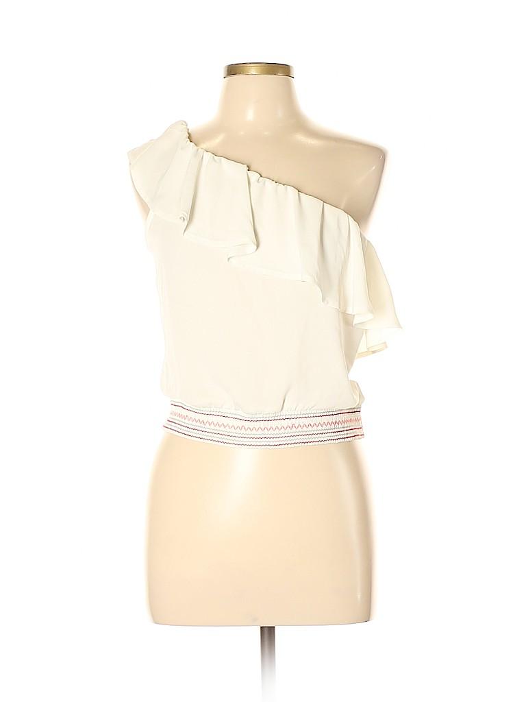 Candie's Women Short Sleeve Blouse Size L