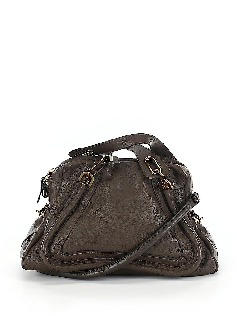 Chloé Women Leather Satchel One Size