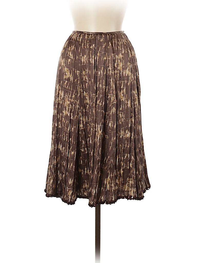 Lafayette 148 New York Women Silk Skirt Size 6