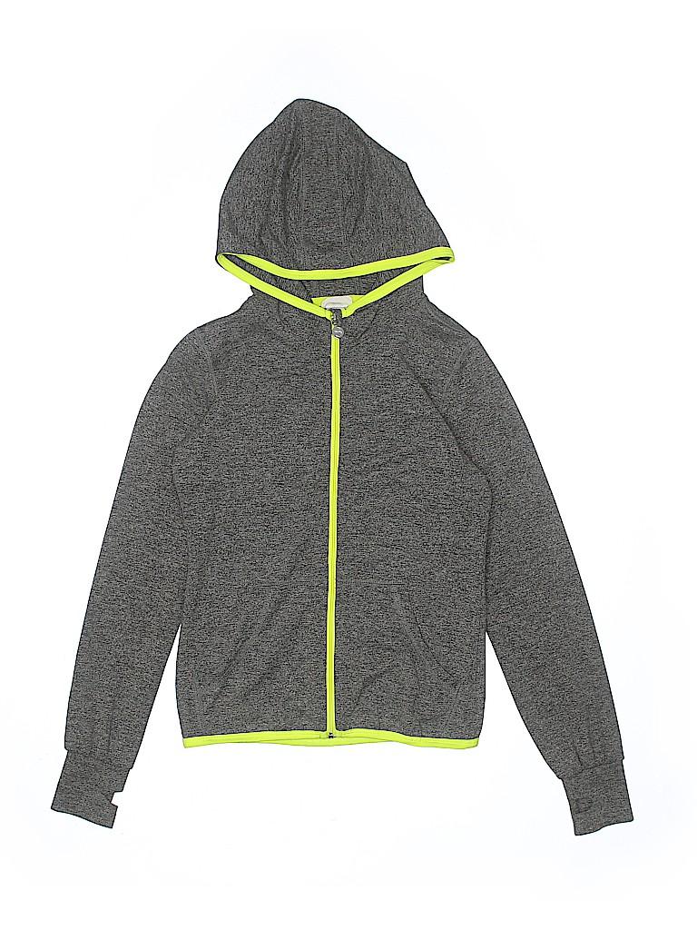 H&M Girls Zip Up Hoodie Size 8 - 10