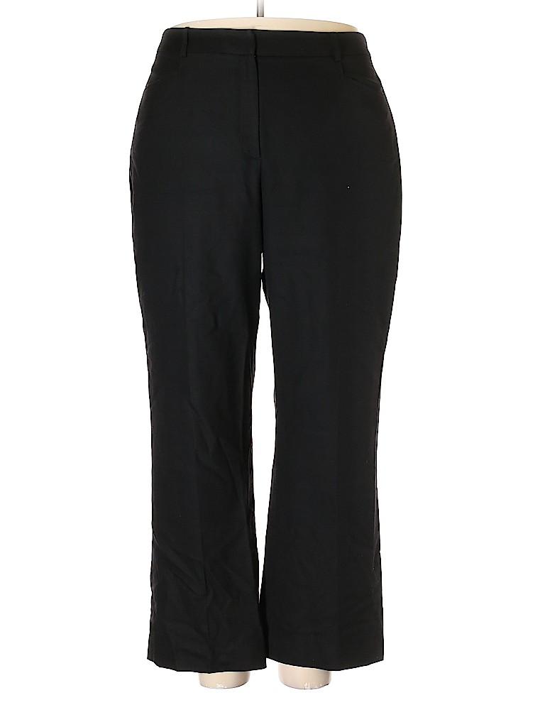 Lands' End Women Wool Pants Size 18 (Plus)