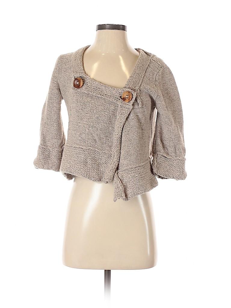 Free People Women Wool Cardigan Size S