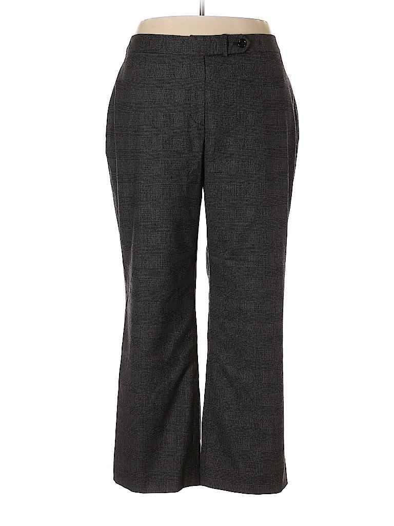 Jones New York Women Wool Pants Size 22 (Plus)