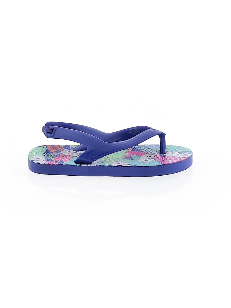 Old Navy Girls Flip Flops Size 9