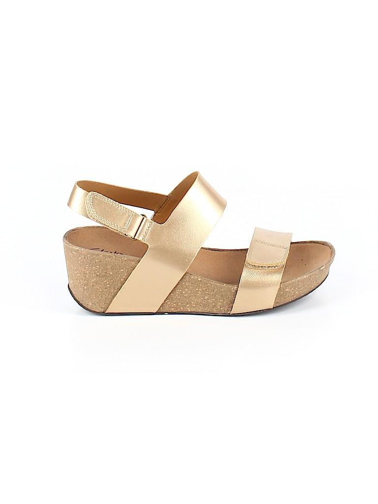 Clarks Women Sandals Size 9 1/2
