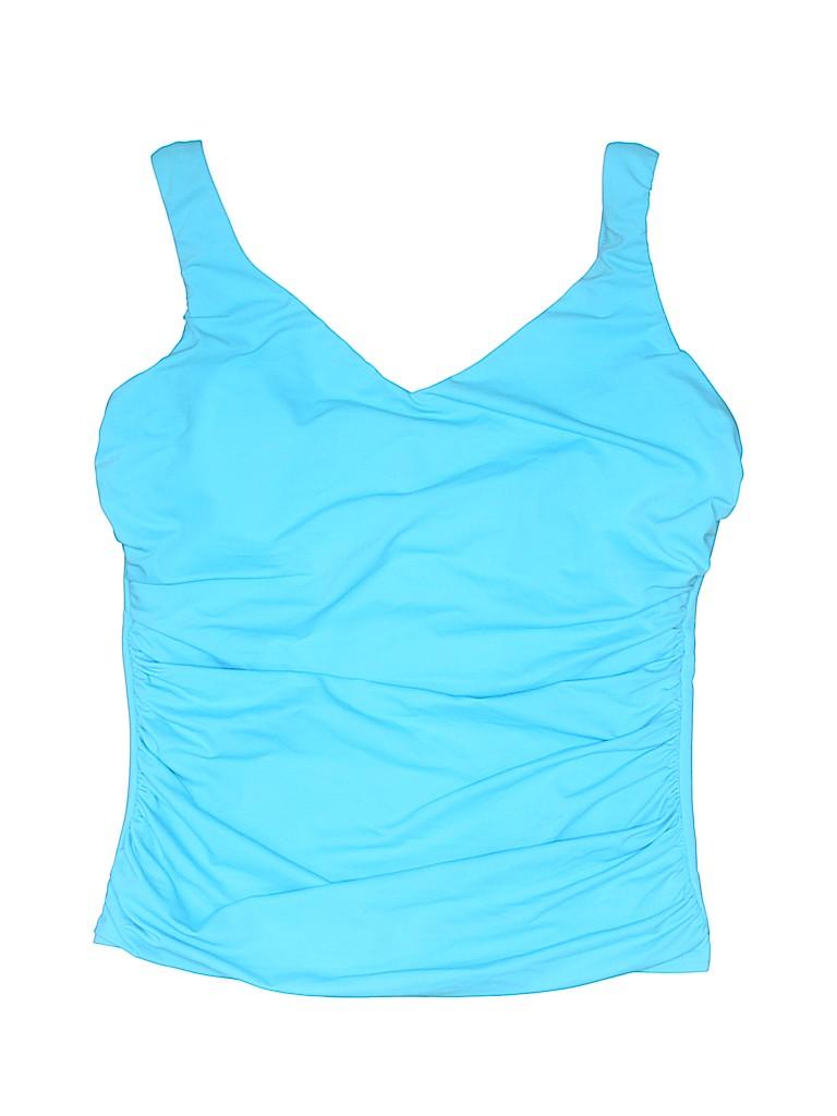 Miraclesuit Women Swimsuit Top Size 14