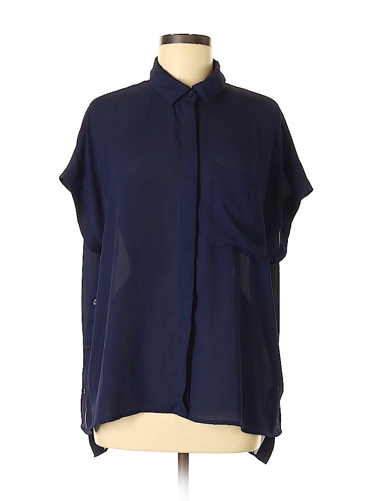 Banana Republic Factory Store Women Short Sleeve Blouse Size M