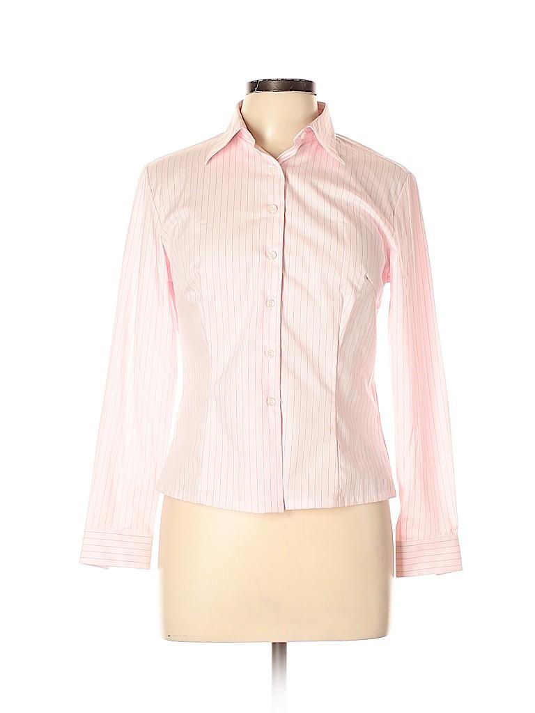 Assorted Brands Women Long Sleeve Button-Down Shirt Size 11