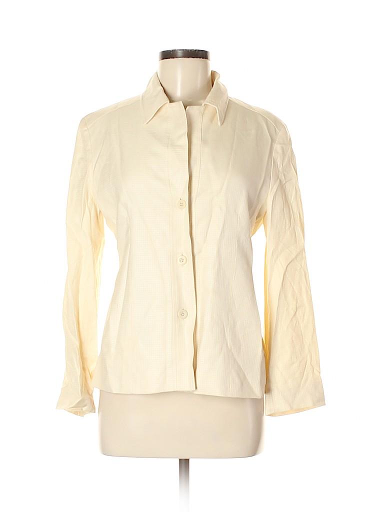 Zanella Women Wool Blazer Size 8