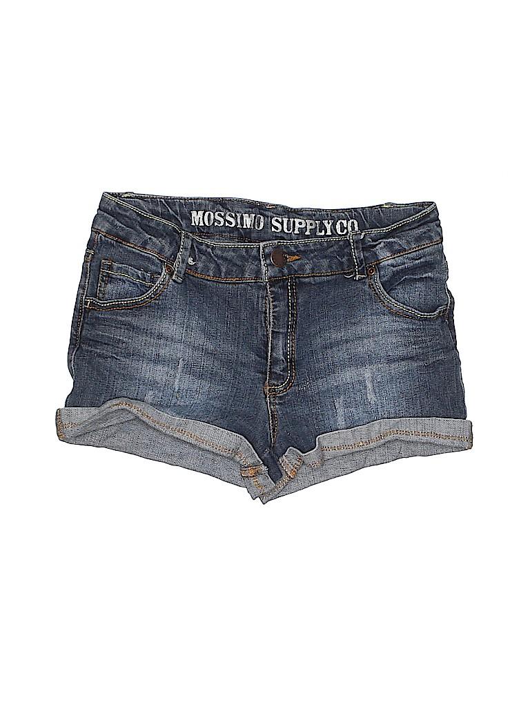 Mossimo Supply Co. Women Denim Shorts Size XL