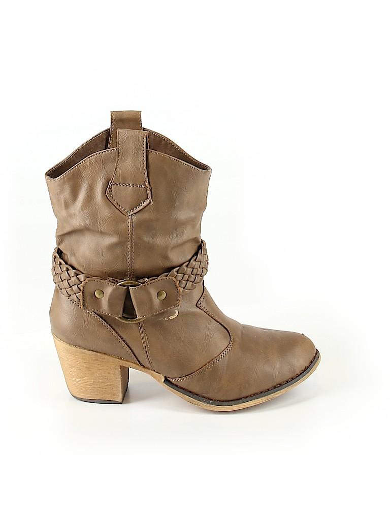 Charles Albert Women Boots Size 8