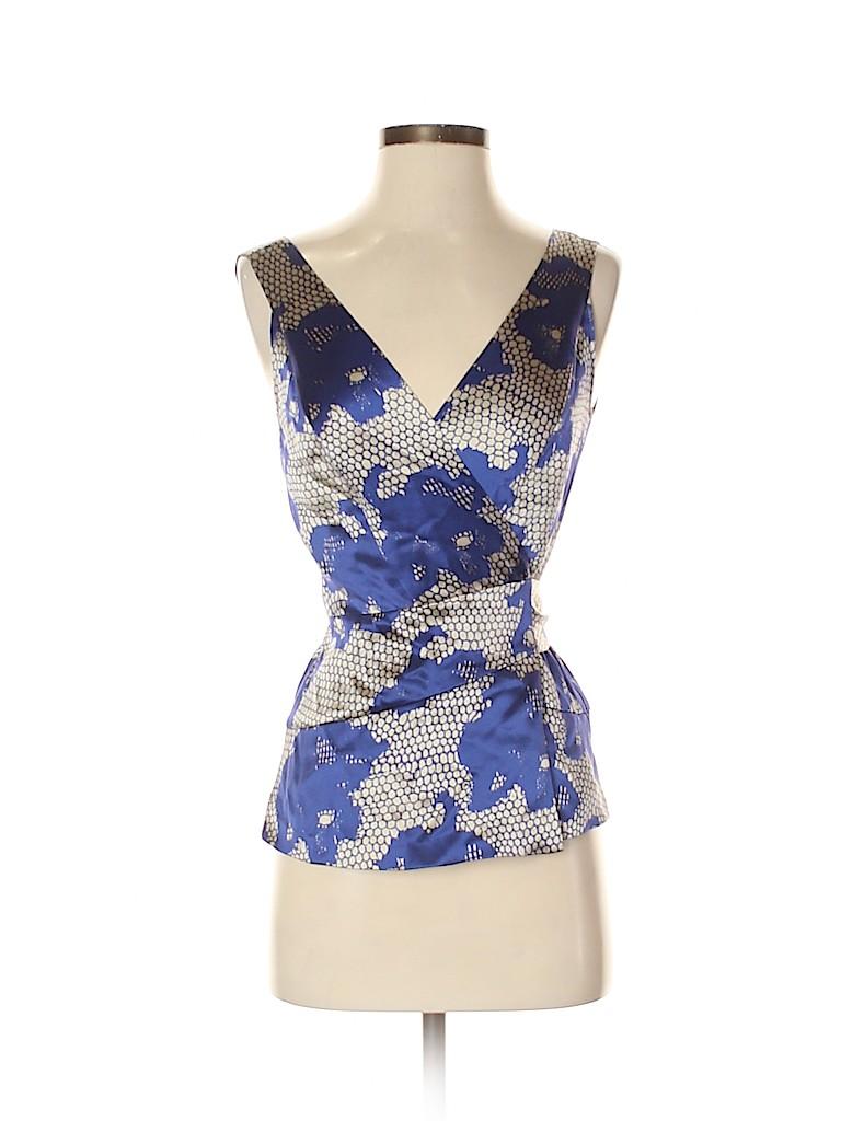 Diane von Furstenberg Women Sleeveless Silk Top Size 2