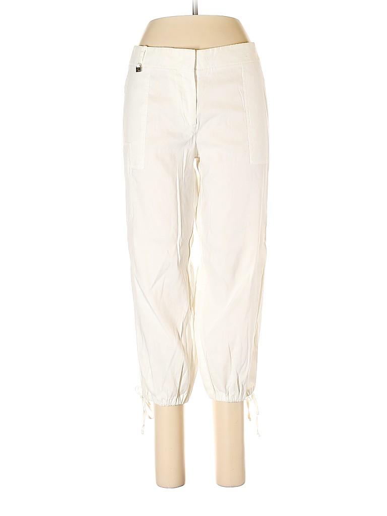 BCBGMAXAZRIA Women Linen Pants Size 10
