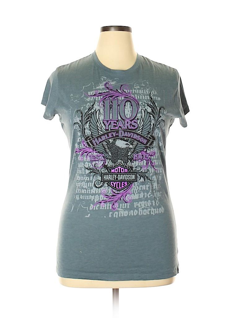 Harley Davidson Women Short Sleeve T-Shirt Size XXL