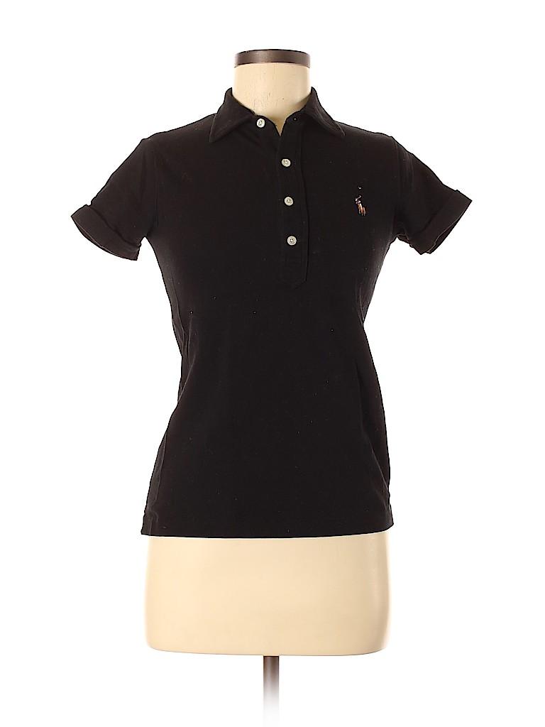 Ralph Lauren Women Short Sleeve Polo Size M