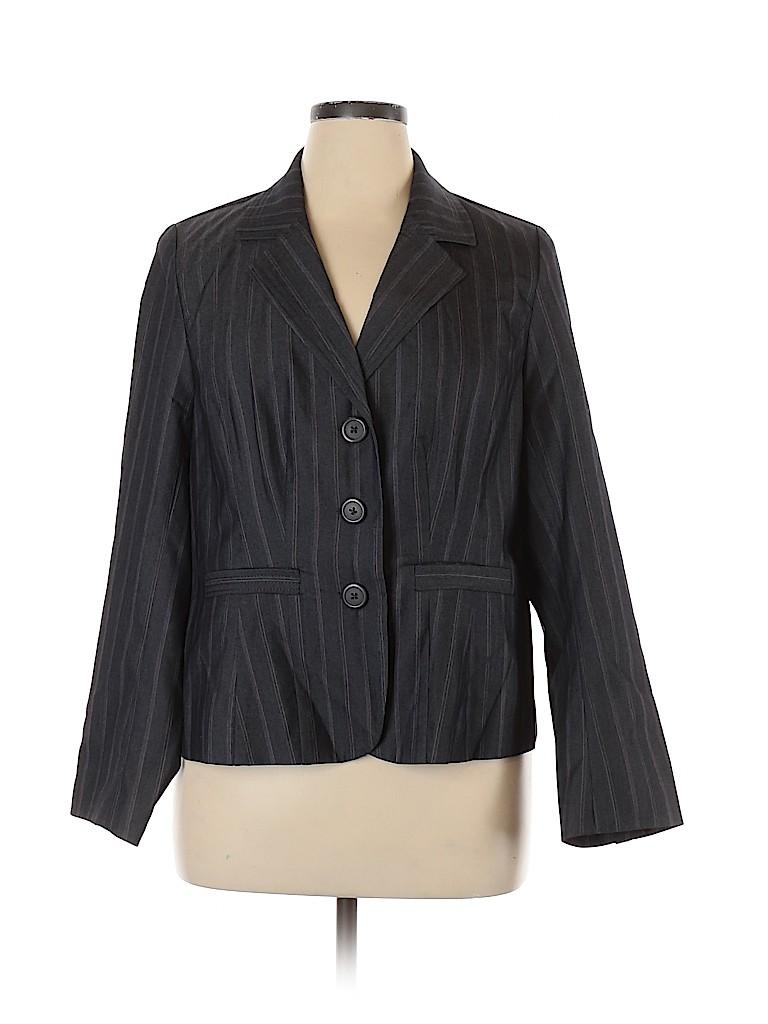 Lane Bryant Women Blazer Size 16 (Plus)