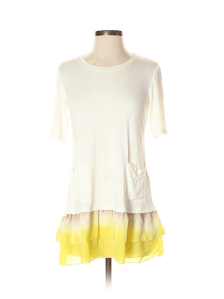 LOGO by Lori Goldstein Women Short Sleeve Top Size XS
