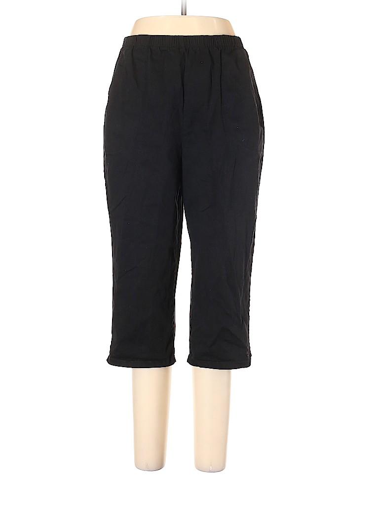 Denim & Co Women Khakis Size L