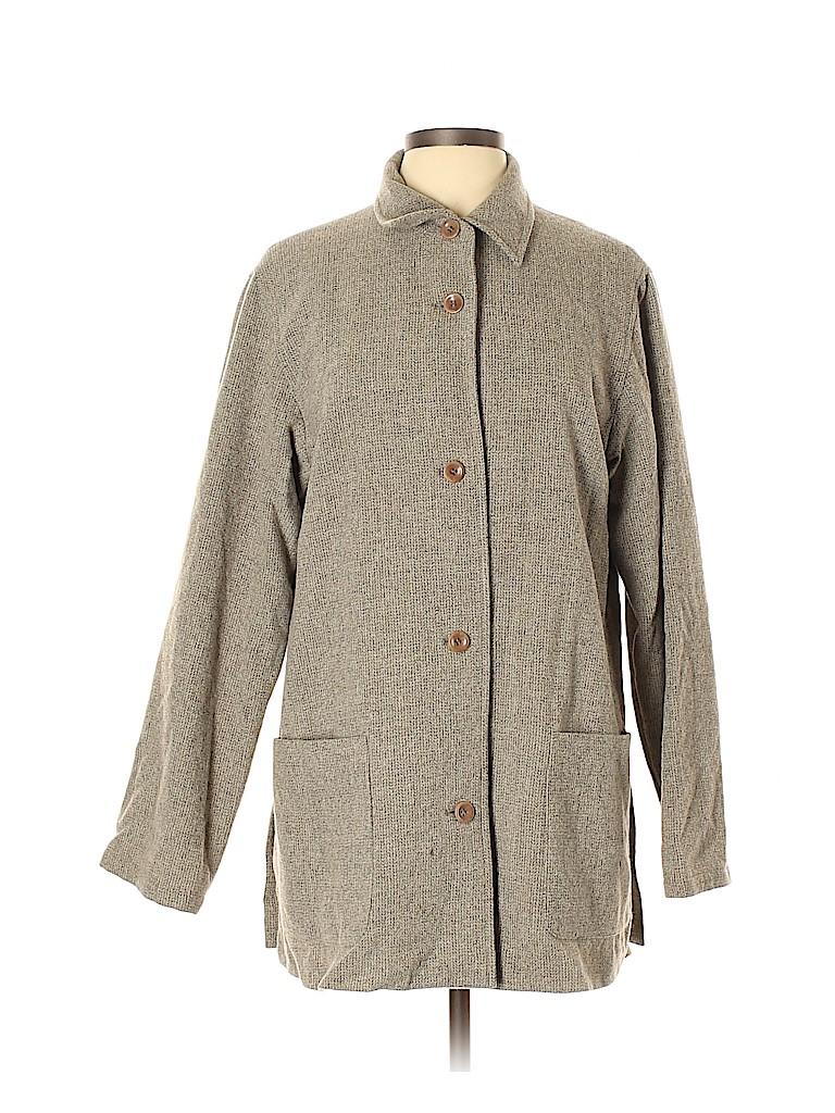 Max Mara Women Wool Coat Size 12