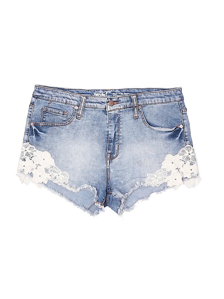 Mossimo Women Denim Shorts Size 14