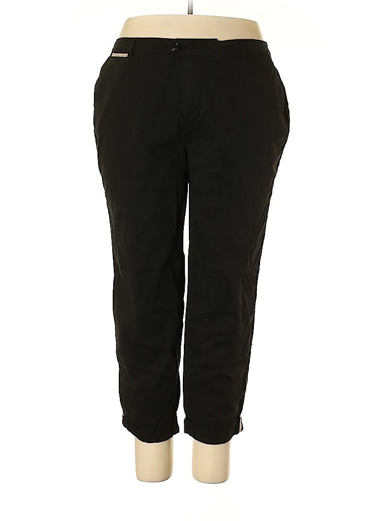 Avenue Women Khakis Size 18 (Plus)